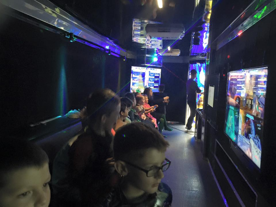 Video Game Birthday Party Truck in Edmonton Sherwood Park AB