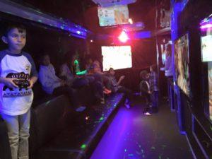 Birthday party game truck in Alberta